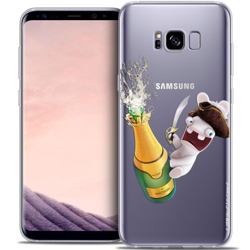 Coque Gel Samsung Galaxy S8 (G950) Extra Fine Lapins Crétins™ - Champagne !