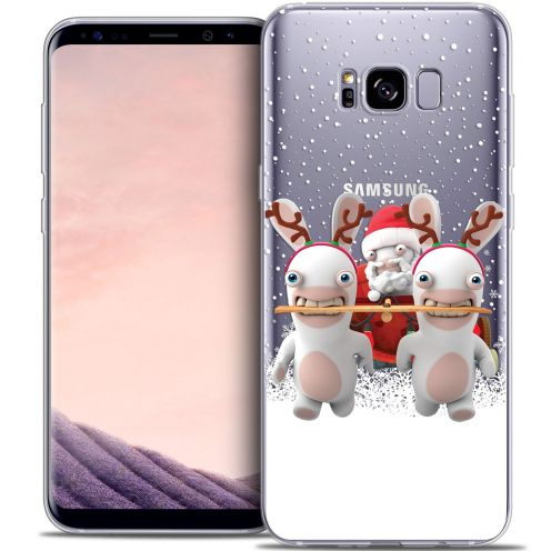 Coque Gel Samsung Galaxy S8 (G950) Extra Fine Lapins Crétins™ - Lapin Traineau