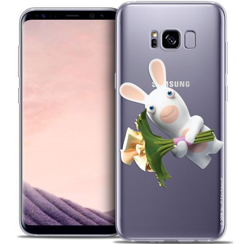 Coque Gel Samsung Galaxy S8 (G950) Extra Fine Lapins Crétins™ - Bouquet Crétin