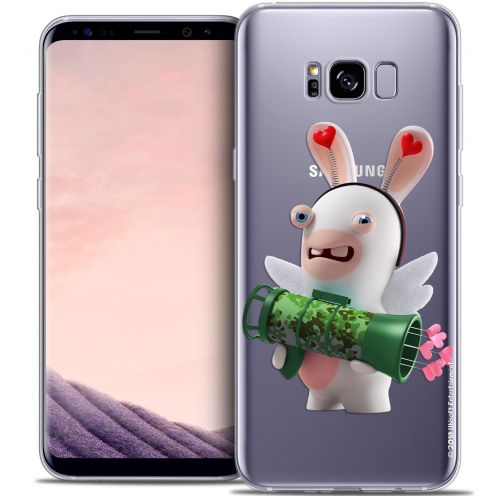 Coque Gel Samsung Galaxy S8 (G950) Extra Fine Lapins Crétins™ - Cupidon Soldat