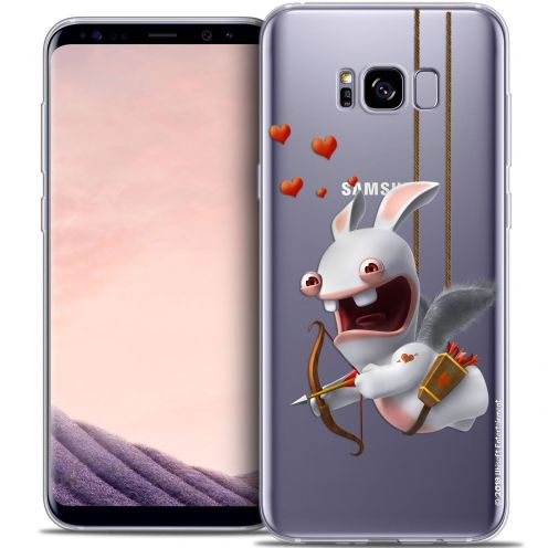 Coque Gel Samsung Galaxy S8 (G950) Extra Fine Lapins Crétins™ - Flying Cupidon