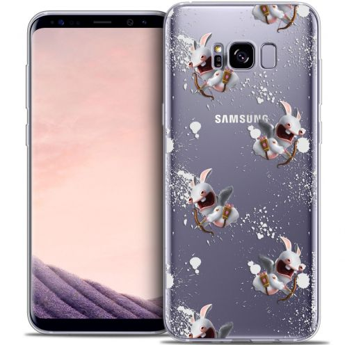 Coque Gel Samsung Galaxy S8 (G950) Extra Fine Lapins Crétins™ - Cupidon Pattern