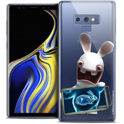 "Coque Gel Samsung Galaxy Note 9 (6.4"") Extra Fine Lapins Crétins™ - X Ray Crétin"