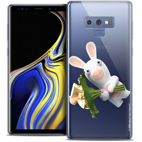 "Coque Gel Samsung Galaxy Note 9 (6.4"") Extra Fine Lapins Crétins™ - Bouquet Crétin"