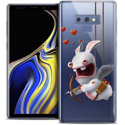 "Coque Gel Samsung Galaxy Note 9 (6.4"") Extra Fine Lapins Crétins™ - Flying Cupidon"
