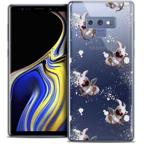 "Coque Gel Samsung Galaxy Note 9 (6.4"") Extra Fine Lapins Crétins™ - Cupidon Pattern"
