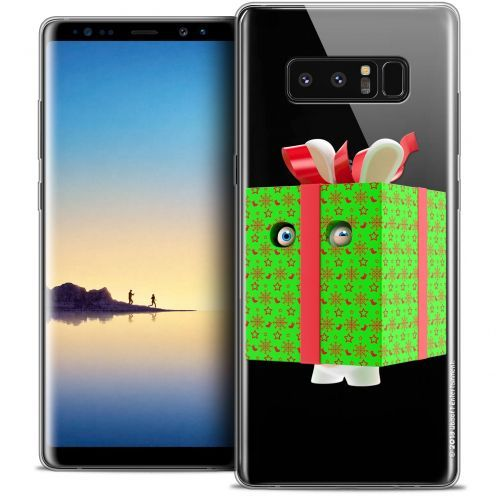"""Coque Gel Samsung Galaxy Note 8 (6.3"""") Extra Fine Lapins Crétins™ - Lapin Surprise Vert"""