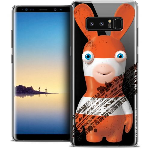 """Coque Gel Samsung Galaxy Note 8 (6.3"""") Extra Fine Lapins Crétins™ - On the Road"""