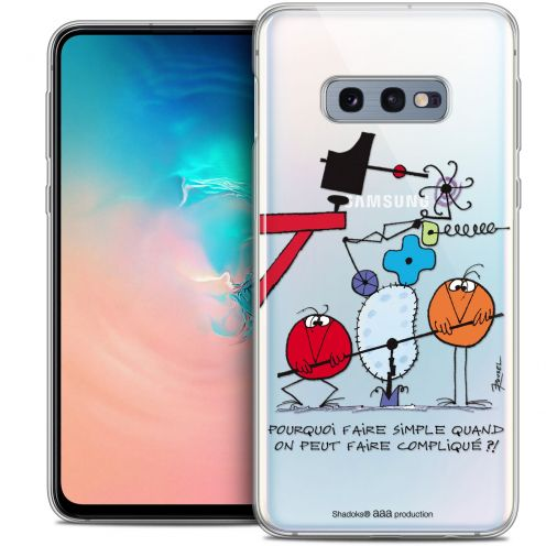 "Coque Gel Samsung Galaxy S10e (5.8"") Extra Fine Les Shadoks® - Pourquoi faire Simple"