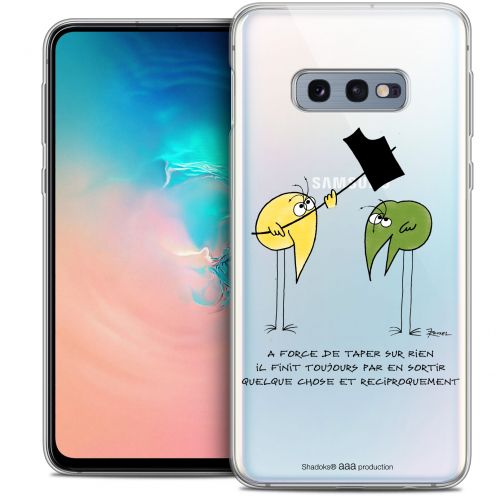 "Coque Gel Samsung Galaxy S10e (5.8"") Extra Fine Les Shadoks® - A Force"