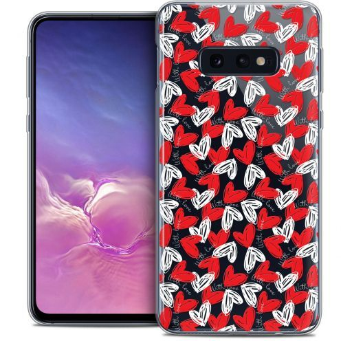 """Coque Crystal Gel Samsung Galaxy S10e (5.8"""") Extra Fine Love - With Love"""