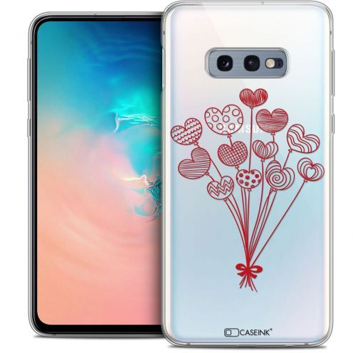"""Coque Crystal Gel Samsung Galaxy S10e (5.8"""") Extra Fine Love - Ballons d'amour"""