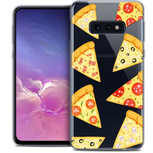 "Coque Crystal Gel Samsung Galaxy S10e (5.8"") Extra Fine Foodie - Pizza"