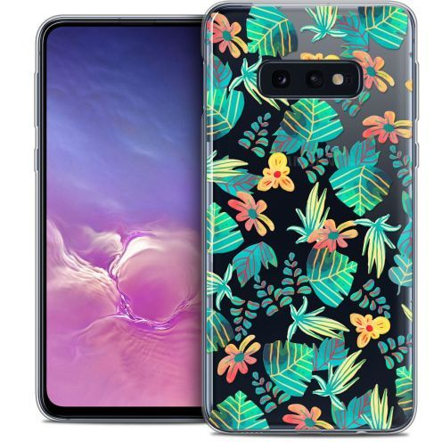 "Coque Crystal Gel Samsung Galaxy S10e (5.8"") Extra Fine Spring - Tropical"