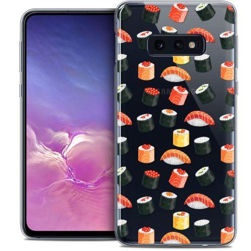 "Coque Crystal Gel Samsung Galaxy S10e (5.8"") Extra Fine Foodie - Sushi"