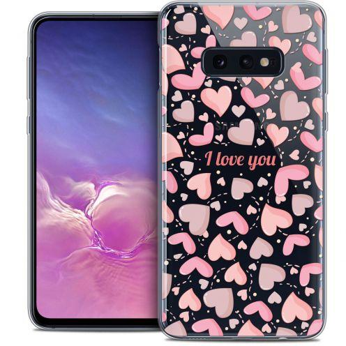 "Coque Crystal Gel Samsung Galaxy S10e (5.8"") Extra Fine Love - I Love You"