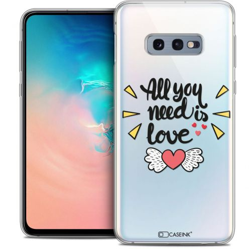 "Coque Crystal Gel Samsung Galaxy S10e (5.8"") Extra Fine Love - All U Need Is"
