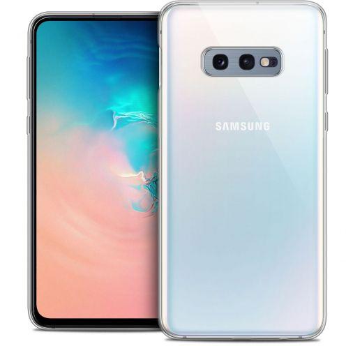 "Coque Crystal Gel Samsung Galaxy S10e (5.8"") Extra Fine Noël 2017 - Cerf Hipster"