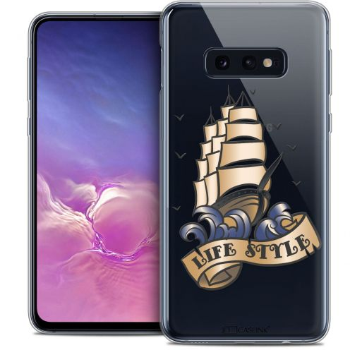 "Coque Crystal Gel Samsung Galaxy S10e (5.8"") Extra Fine Tatoo Lover - Life Style"