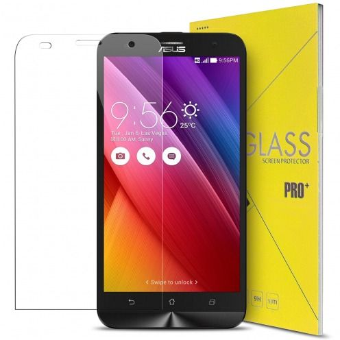 "Protection d'écran Verre trempé Asus Zenfone 2 Laser 5.5"" ZE550KL - 9H Glass Pro+ HD 0.33mm 2.5D"