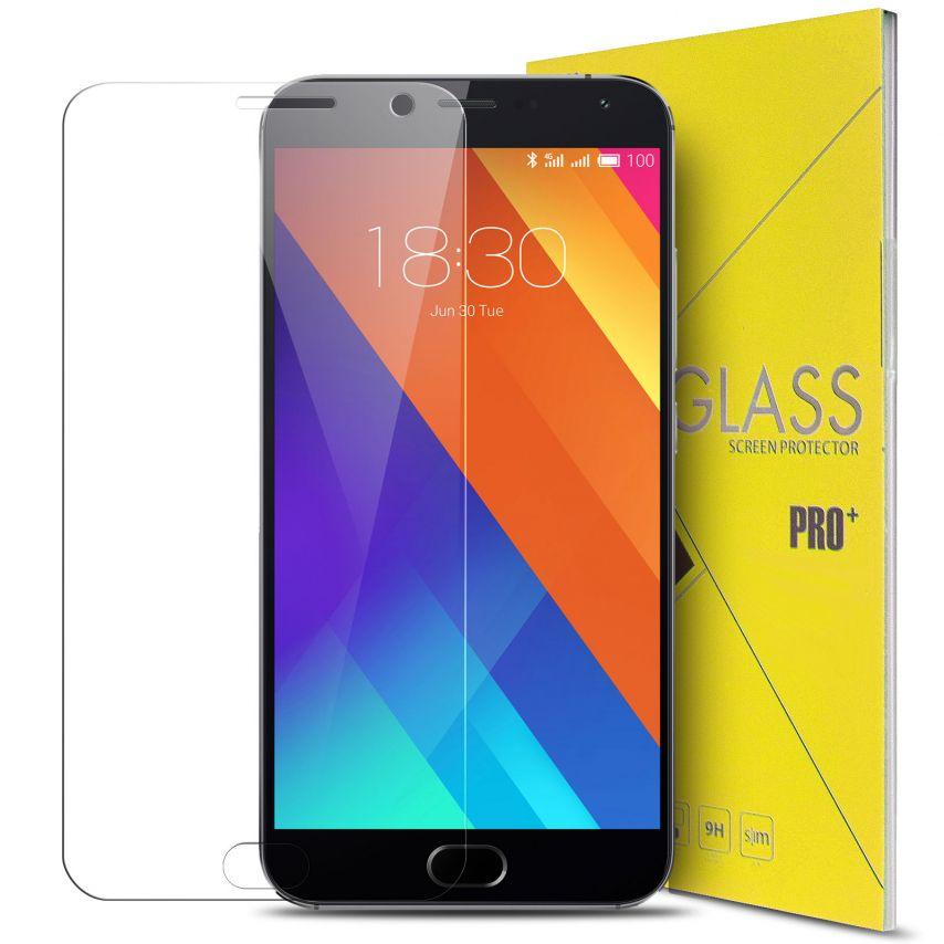 Vue détaillée de Protection d'écran Verre trempé Meizu MX5 - 9H Glass Pro+ HD 0.33mm 2.5D