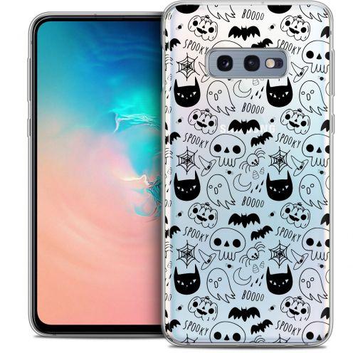 "Coque Crystal Gel Samsung Galaxy S10e (5.8"") Extra Fine Halloween - Spooky"