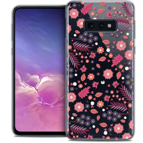 "Coque Crystal Gel Samsung Galaxy S10e (5.8"") Extra Fine Spring - Printemps"