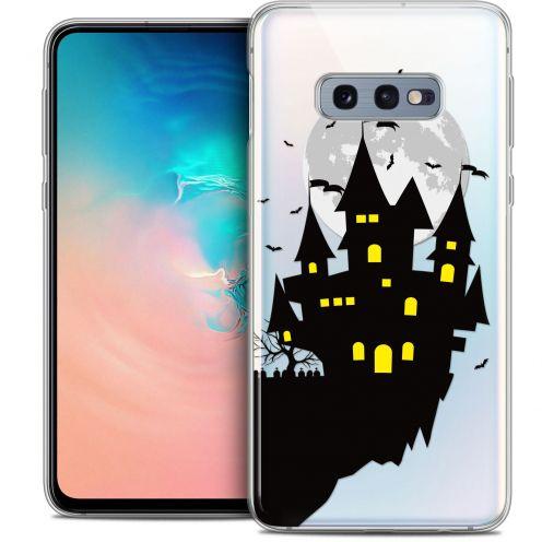 "Coque Crystal Gel Samsung Galaxy S10e (5.8"") Extra Fine Halloween - Castle Dream"