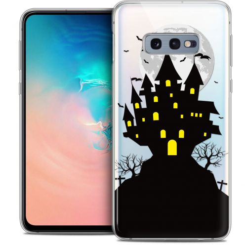 "Coque Crystal Gel Samsung Galaxy S10e (5.8"") Extra Fine Halloween - Castle Scream"