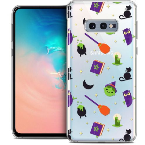 """Coque Crystal Gel Samsung Galaxy S10e (5.8"""") Extra Fine Halloween - Witch Potter"""