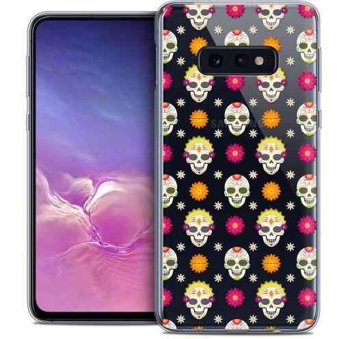 "Coque Crystal Gel Samsung Galaxy S10e (5.8"") Extra Fine Halloween - Skull Halloween"