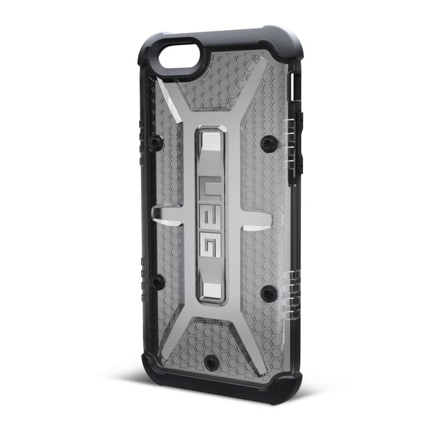 Vue complémentaire de Coque Antichoc iPhone 6 / 6s Urban Armor Gear® UAG Ash Fumée