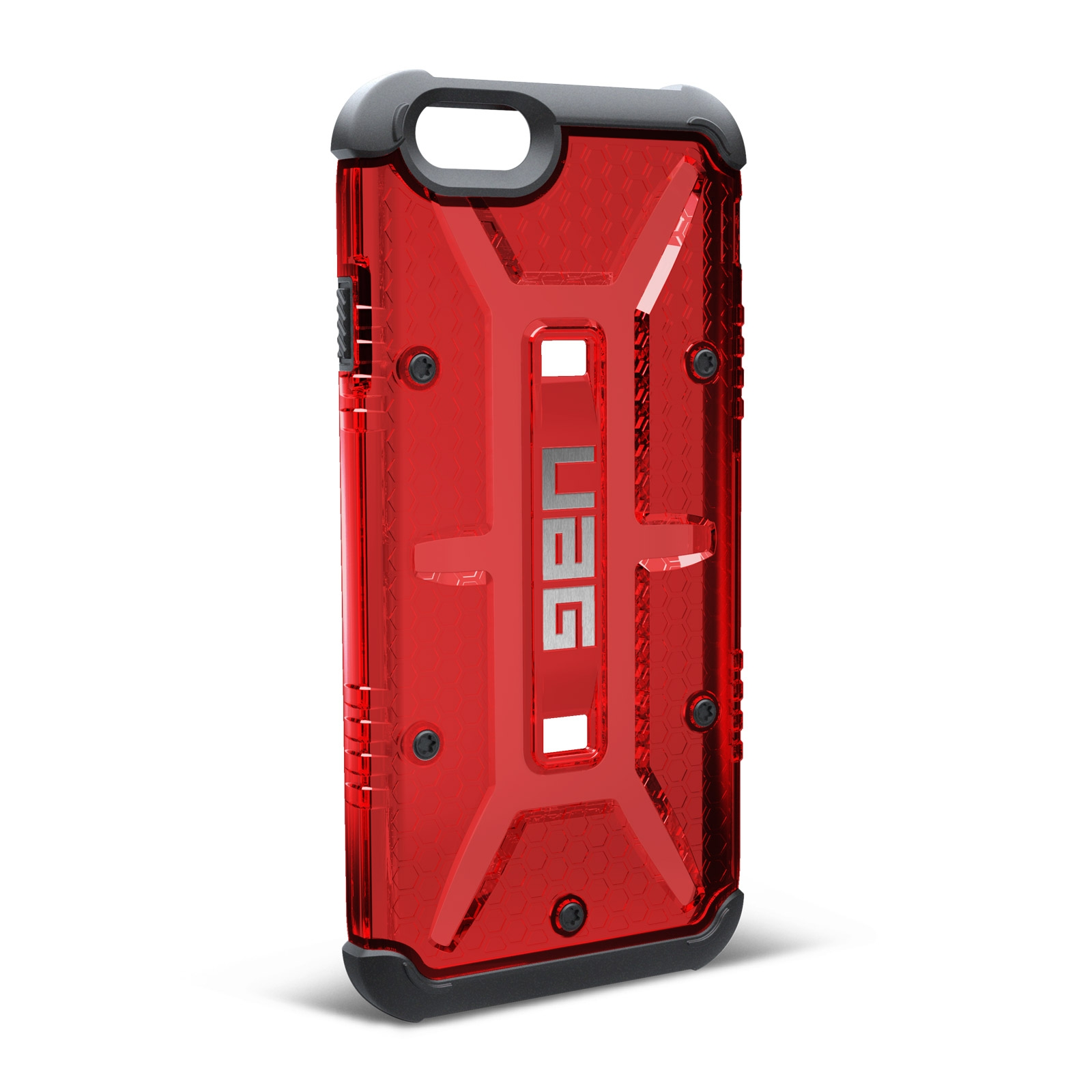 coque antichoc iphone 6s 6 urban armor gear uag magma rouge. Black Bedroom Furniture Sets. Home Design Ideas