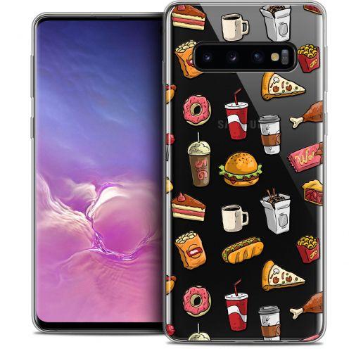 "Coque Crystal Gel Samsung Galaxy S10 (6.1"") Extra Fine Foodie - Fast Food"