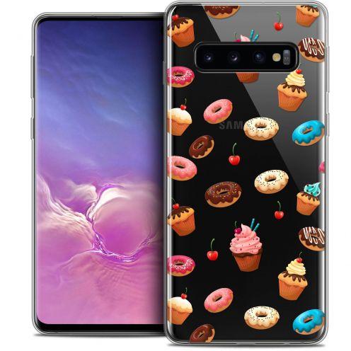 "Coque Crystal Gel Samsung Galaxy S10 (6.1"") Extra Fine Foodie - Donuts"