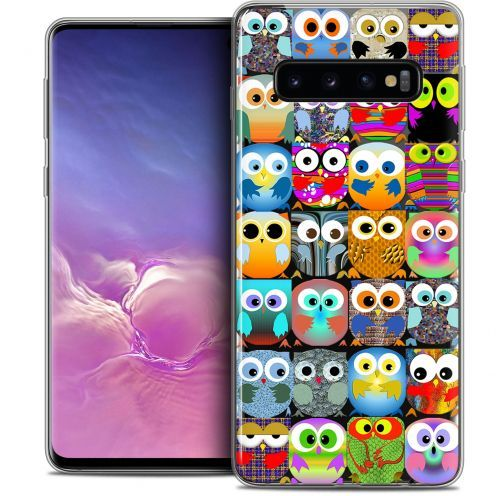 "Coque Crystal Gel Samsung Galaxy S10 (6.1"") Extra Fine Claude - Hibous"