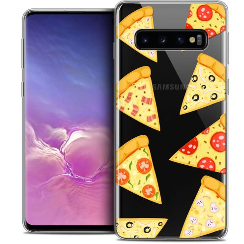 "Coque Crystal Gel Samsung Galaxy S10 (6.1"") Extra Fine Foodie - Pizza"