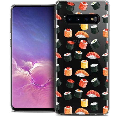 "Coque Crystal Gel Samsung Galaxy S10 (6.1"") Extra Fine Foodie - Sushi"