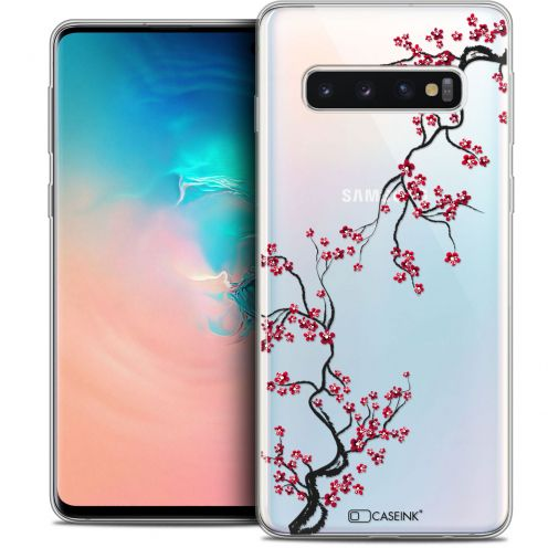 "Coque Crystal Gel Samsung Galaxy S10 (6.1"") Extra Fine Summer - Sakura"