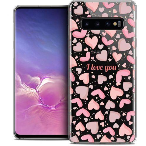"Coque Crystal Gel Samsung Galaxy S10 (6.1"") Extra Fine Love - I Love You"