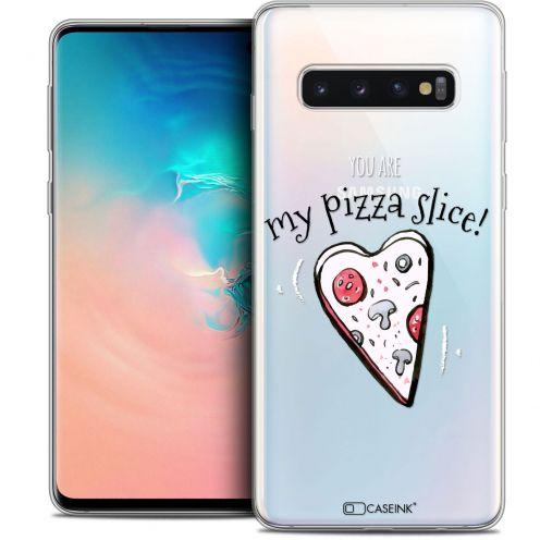"Coque Crystal Gel Samsung Galaxy S10 (6.1"") Extra Fine Love - My Pizza Slice"