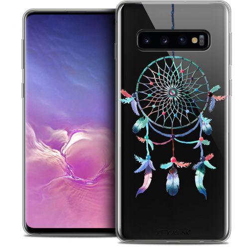 """Coque Crystal Gel Samsung Galaxy S10 (6.1"""") Extra Fine Dreamy - Attrape Rêves Rainbow"""