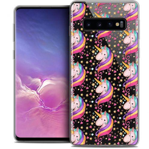 "Coque Crystal Gel Samsung Galaxy S10 (6.1"") Extra Fine Fantasia - Licorne Etoilée"