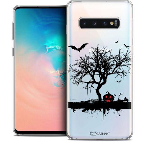 "Coque Crystal Gel Samsung Galaxy S10 (6.1"") Extra Fine Halloween - Devil's Tree"