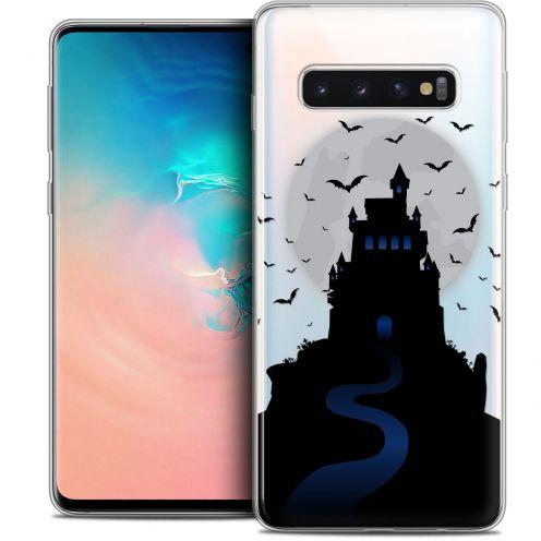 """Coque Crystal Gel Samsung Galaxy S10 (6.1"""") Extra Fine Halloween - Castle Nightmare"""