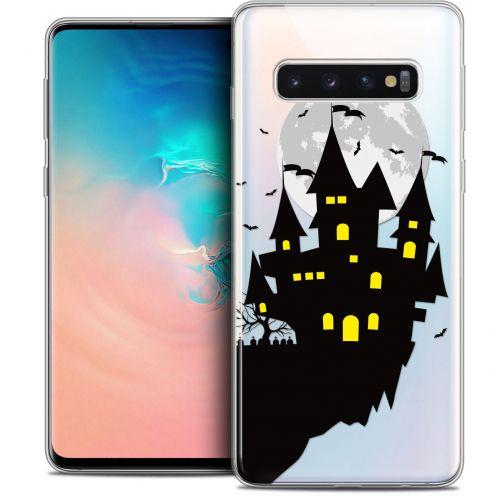 "Coque Crystal Gel Samsung Galaxy S10 (6.1"") Extra Fine Halloween - Castle Dream"