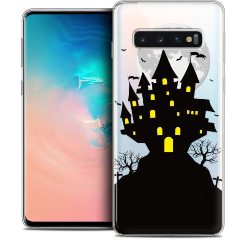 "Coque Crystal Gel Samsung Galaxy S10 (6.1"") Extra Fine Halloween - Castle Scream"