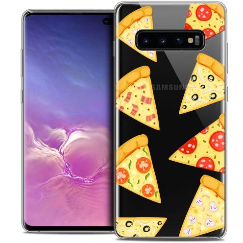 "Coque Crystal Gel Samsung Galaxy S10+ (6.4"") Extra Fine Foodie - Pizza"