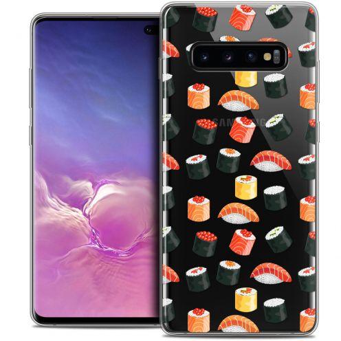 "Coque Crystal Gel Samsung Galaxy S10+ (6.4"") Extra Fine Foodie - Sushi"
