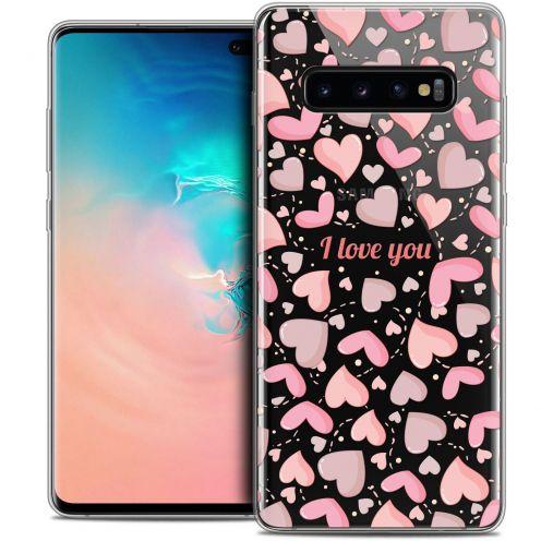 "Coque Crystal Gel Samsung Galaxy S10+ (6.4"") Extra Fine Love - I Love You"